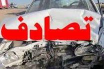 ۴نفرکشته و زخمی در اثر برخورد خودرو باگاردریل در اتوبان تهران-پردیس