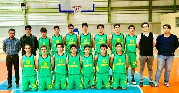 دور برگشت رقابت های بسکتبال لیگ نوجوانان پسر کشور  پایان یافت