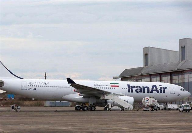 اولین ایرباس ۳۳۰ ایران وارد شد