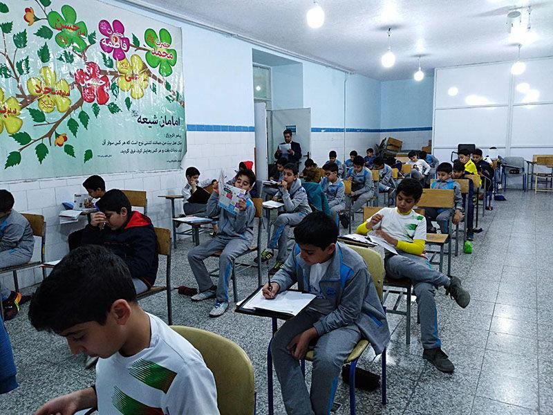 برگزاری امتحانات تابستانی دانش آموزان در مازندران