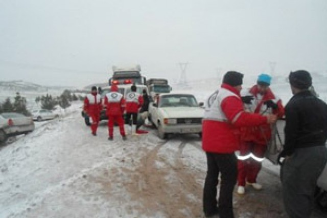 امدادرسانی  نجاتگران هلال احمر اصفهان به 89 حادثه دیده در هفته گذشته