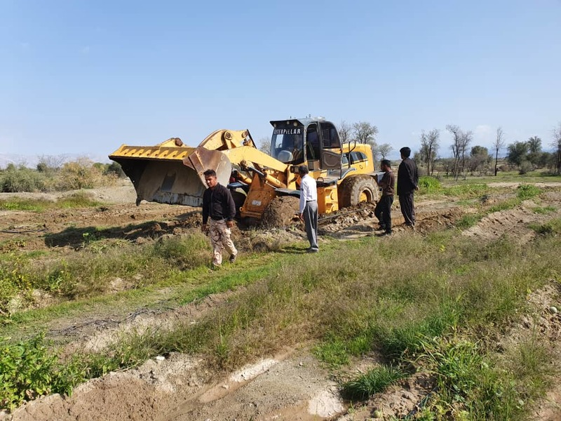 رفع تصرف 30 هکتار از اراضی ملی در هشتبندی میناب