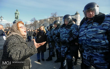 تظاهرات ضد دولتی در روسیه 