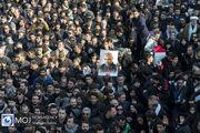 تشییع پیکر سپهبد شهید قاسم سلیمانی در تهران (۴)