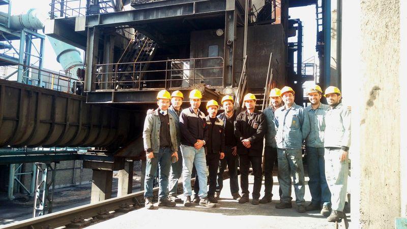 تعمیرات اساسی ماشین درب بازکن غربی باتری 3 برای اولین بار انجام شد