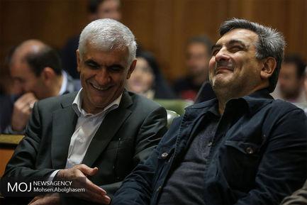 تکریم+افشانی+،+شهردار+سابق+در+جلسه+شورای+شهر+تهران