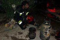 آتش سوزی منزل مسکونی در زینبیه اصفهان مهار شد