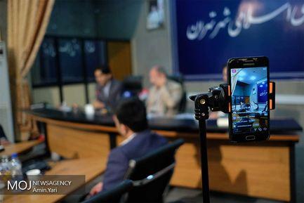 نشست خبری حبیب زاده