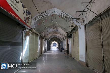 وضعیت قرمز کرونا و تعطیلی مراکز خرید اصفهان