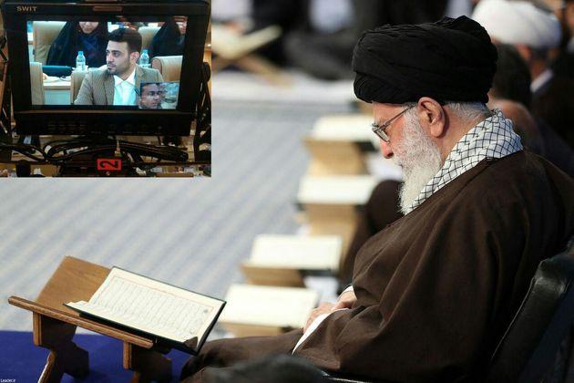 «محمد خطیب» پژوهشگر خوزستانی با رهبر معظم انقلاب دیدار کرد