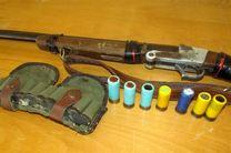 کشف ۲۳ قبضه اسلحه شکاری فاقد مجوز در گلستان