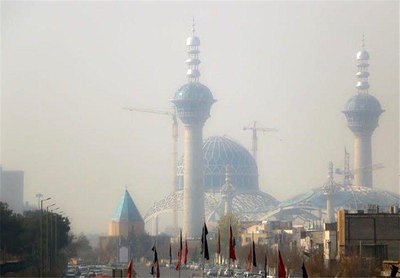 هوای اصفهان در وضعیت ناسالم برای گروه های حساس قرار گرفت