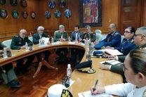 دیدار امیر حاتمی با وزیر دفاع ونزوئلا