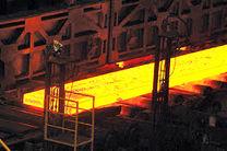تولید ماهانه تختال در فولاد مبارکه از ۵۶۲ هزار تن گذشت