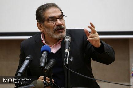 اولین همایش ملی فناوری فضایی/دریابان علی شمخانی دبیر شورای عالی امنیت ملی