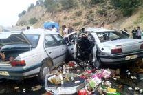 سرعت غیرمجاز پژو 405 در محمودآباد جان سه نفر را گرفت