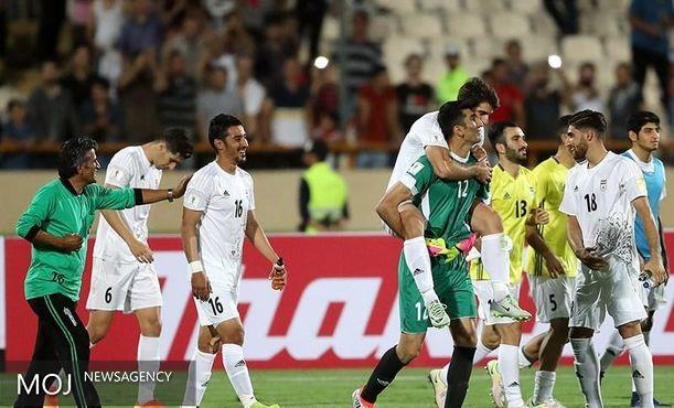 باشگاه هواداران فوتبال ملی به شاگردان کیروش تبریک گفتند