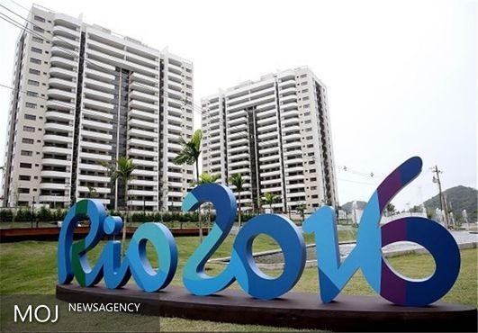 نصب پرچم ۱۲ کشور در آپارتمانهای دهکده المپیک ۲۰۱۶ + تصاویر