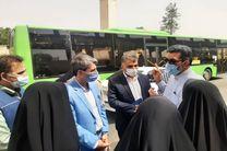 اعضای ستاد کرونا قم از اجرای شیوهنامههای بهداشتی در ناوگان حملونقل عمومی بازدید کردند