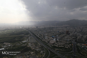 کیفیت هوای تهران ۱۷ اسفند ۹۹/ شاخص کیفیت هوا به ۹۴ رسید