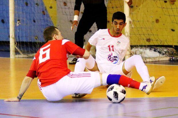 تیم ملی فوتسال زیر 20 سال ایران مقابل ژاپن به برتری رسید