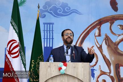 جشن چهلمین سال انقلاب در بندرعباس/حسینعلی امیری معاون پارلمانی رییس جمهوری