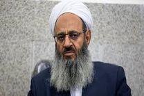 پیام تبریک مولانا عبدالحمید به هاشمی شاهرودی