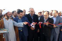 بهره برداری از پروژه گازرسانی به جندق و فرخی در استان اصفهان