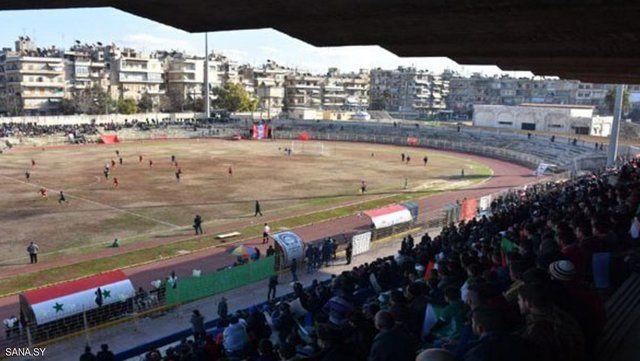 حلب شاهد اولین دربی فوتبال پس از ۵ سال
