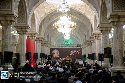 اجتماع طلاب و حوزویان در پی شهادت سردار سلیمانی
