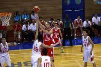 یک پیروزی و یک شکست برای تیم های بسکتبال ایران در ارمنستان رقم خورد