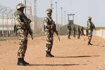 اقدامات امنیتی الجزایر در مرز با لیبی / دیوار کشی برای مقابله با ورود تروریست ها