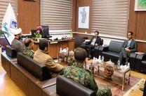 برقراری امنیت ،آرامش و ایجاد جامعه ای شاداب از اهداف مشترک شهرداری و نیروی انتظامی است