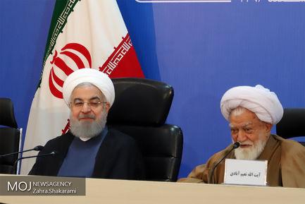 جلسه شورای اداری استان هرمزگان با حضور رییس جمهوری