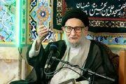 علی لاریجانی رحلت آیت الله ضیاآبادی را تسلیت گفت