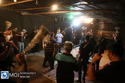 عزاداری شب هفتم ماه محرم در محله نظام آباد