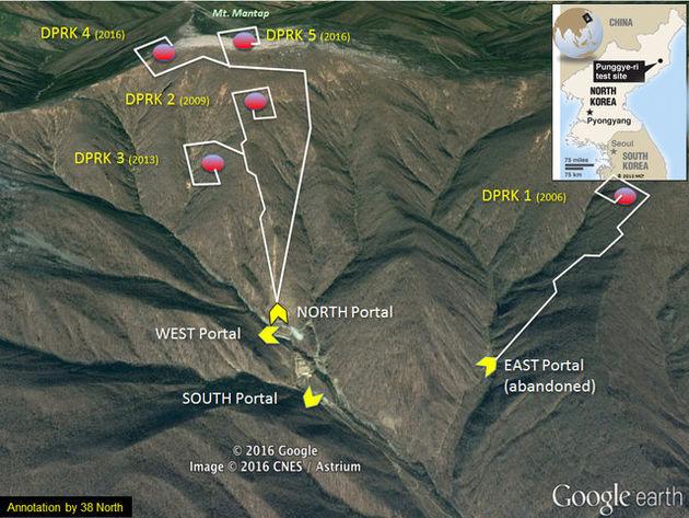 کره شمالی برای انجام بزرگترین آزمایش هستهای خود آماده میشود