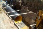 اتصال نیمی از فاضلاب خانگی جویبار به شبکه شهری
