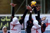 دختران والیبالیست ایران مغلوب استرالیا شدند