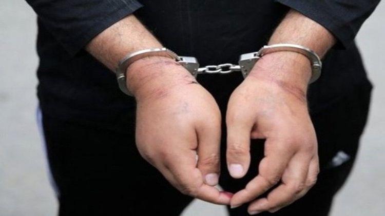 سردسته شبکه تبلیغی سلطنت طلبان در مبارکه دستگیر شد
