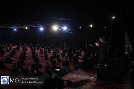 عزاداری شب دوم محرم در بوستان ارتش