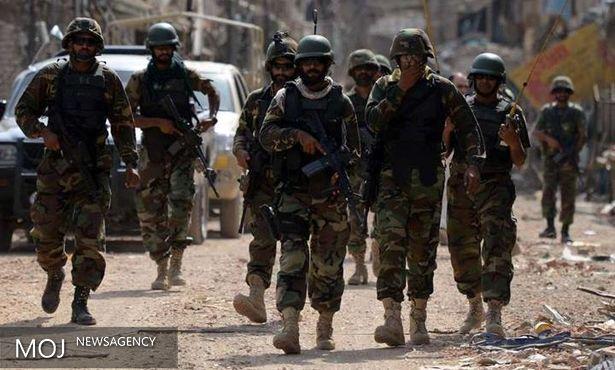کشته شدن ۱۴ تروریست در نزدیکی مرز افغانستان