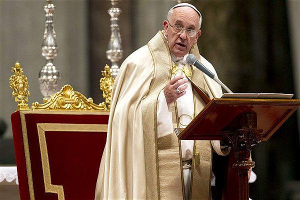 پاپ: درباره اختلافات با ترامپ صادقانه برخورد می کنم