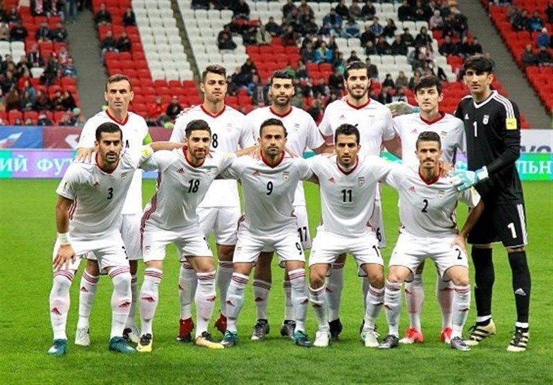 سقوط سه پله ای تیم ملی فوتبال ایران