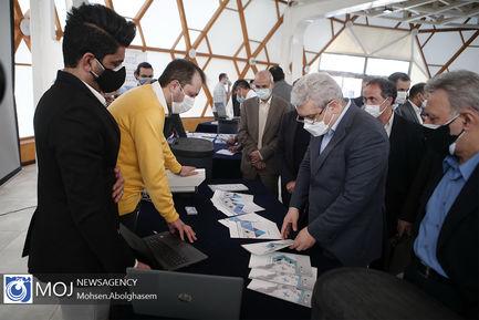 افتتاح نمایشگاه فناورانه پارک علم و فناوری دانشگاه تهران
