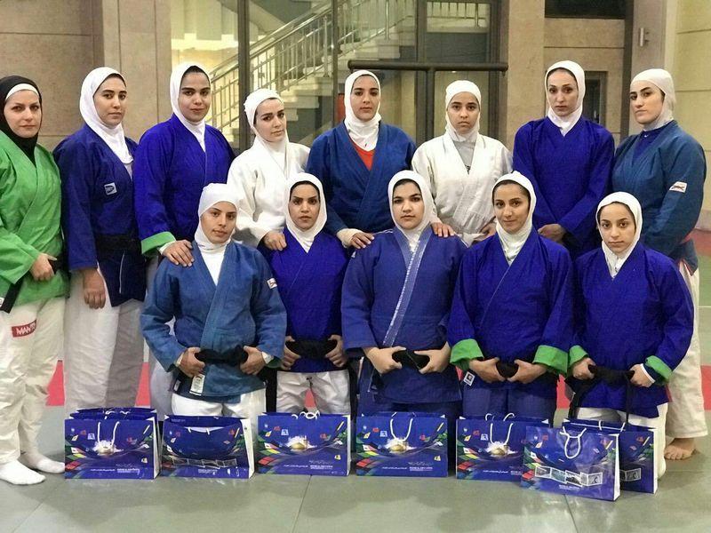 اردوی تیم ملی کوراش بانوان و آقایان در مشهد پایان یافت