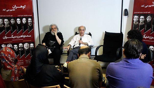 امجد: «سه خواهر و دیگران» نقد ابتذال امروز است / رحمانیان: امجد، کارگردان زاده شده است