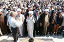 پیکر مطهر حجتالاسلام موسوی شالی در قزوین تشییع شد