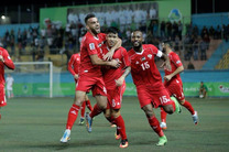 نتیجه دیدار تیم ملی فلسطین و سوریه/اولین امتیاز فلسطین در تاریخ جام ملت های آسیا