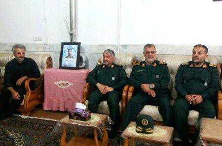 فرمانده کل سپاه، شهادت محسن حججی را تسلیت گفت